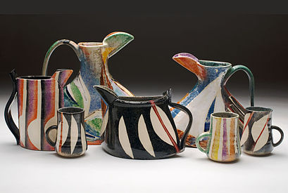 Abstract Series Pots
