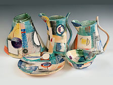 Madrugada Jugs, Vase and Bowls - 25-40cm